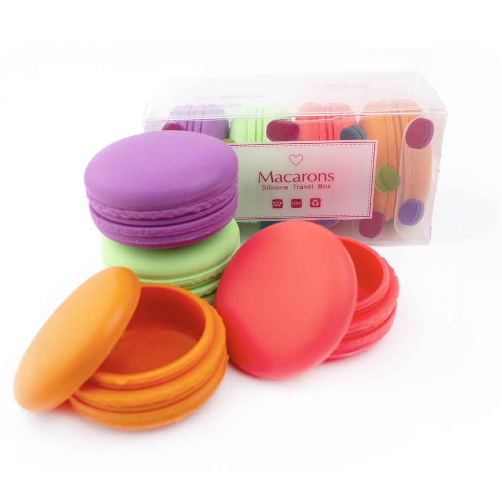 Macaron Silicone Container Jar