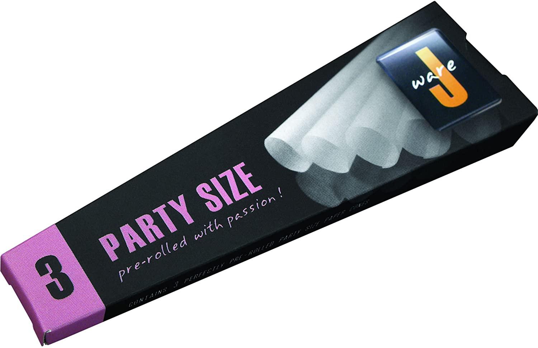 JWare Party Size 140mm Cones Display Box