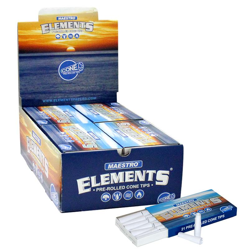 Elements Maestro Pre-Rolled Cone Rolling Tips