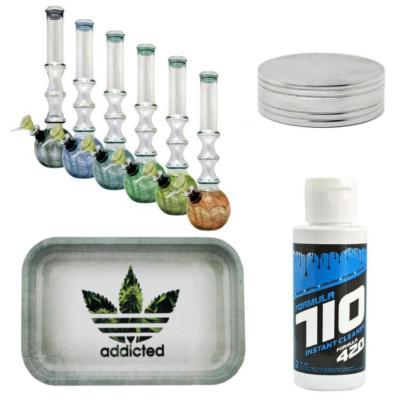 Formula 710, Addicted Tray and Glass Water Pipe Bundle