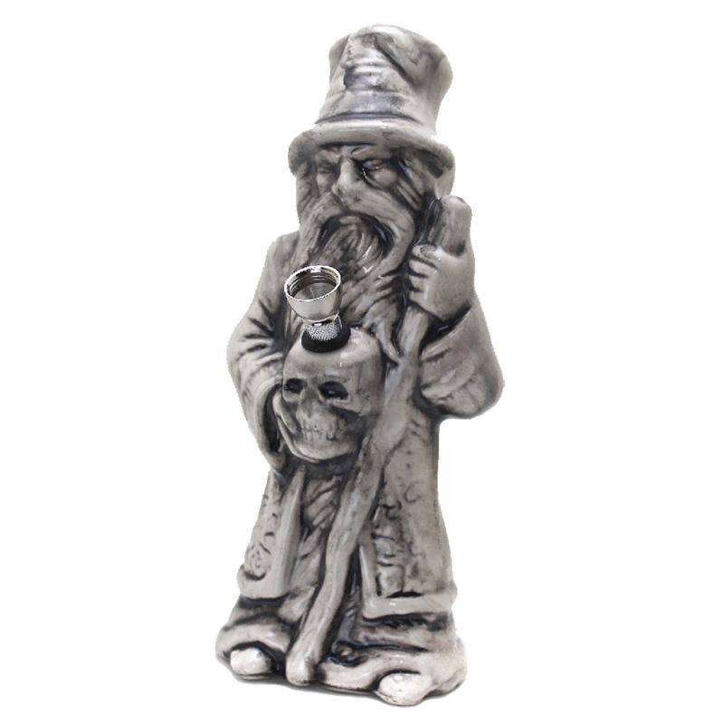 "10"" Wizard Ceramic Water Pipe"