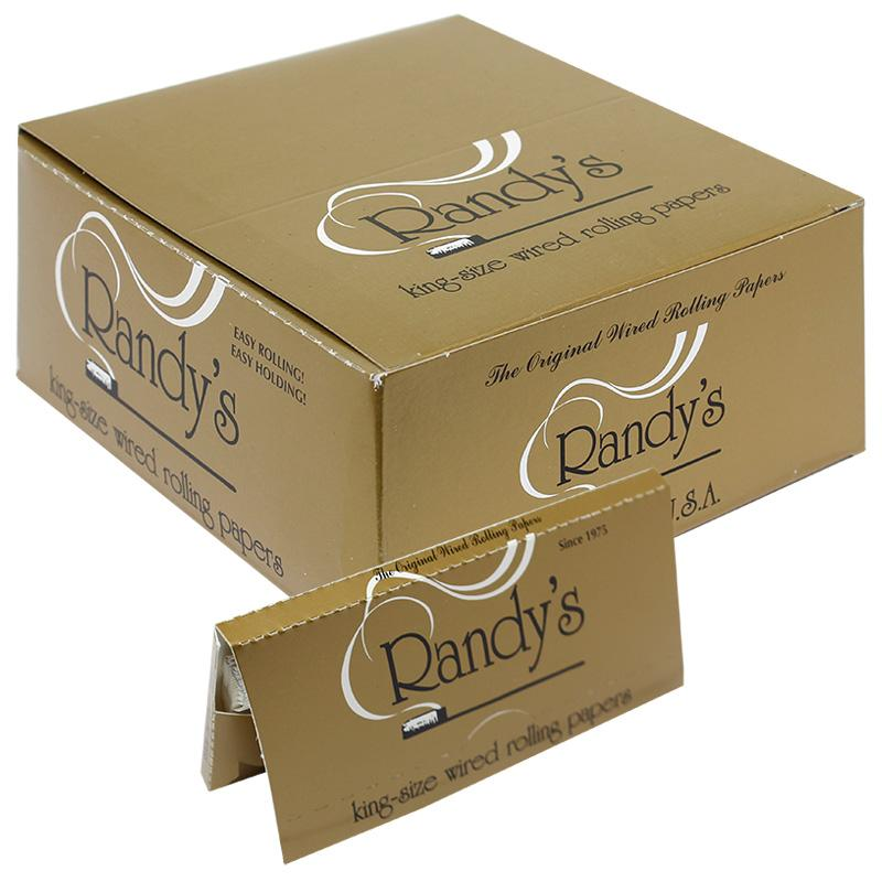 Randy's Wired 110mm King Size Rolling Paper