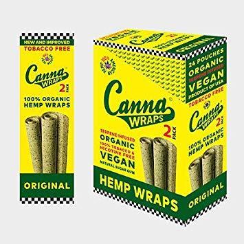 Canna Wraps Original - 24ct.