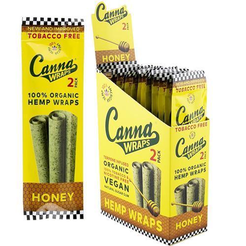 Canna Wraps Honey - 24ct.