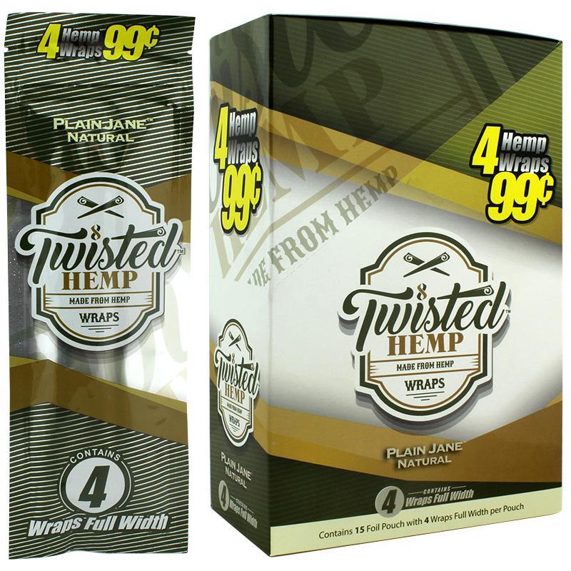Twisted Hemp Wrap Plain Jane Natural Flavor
