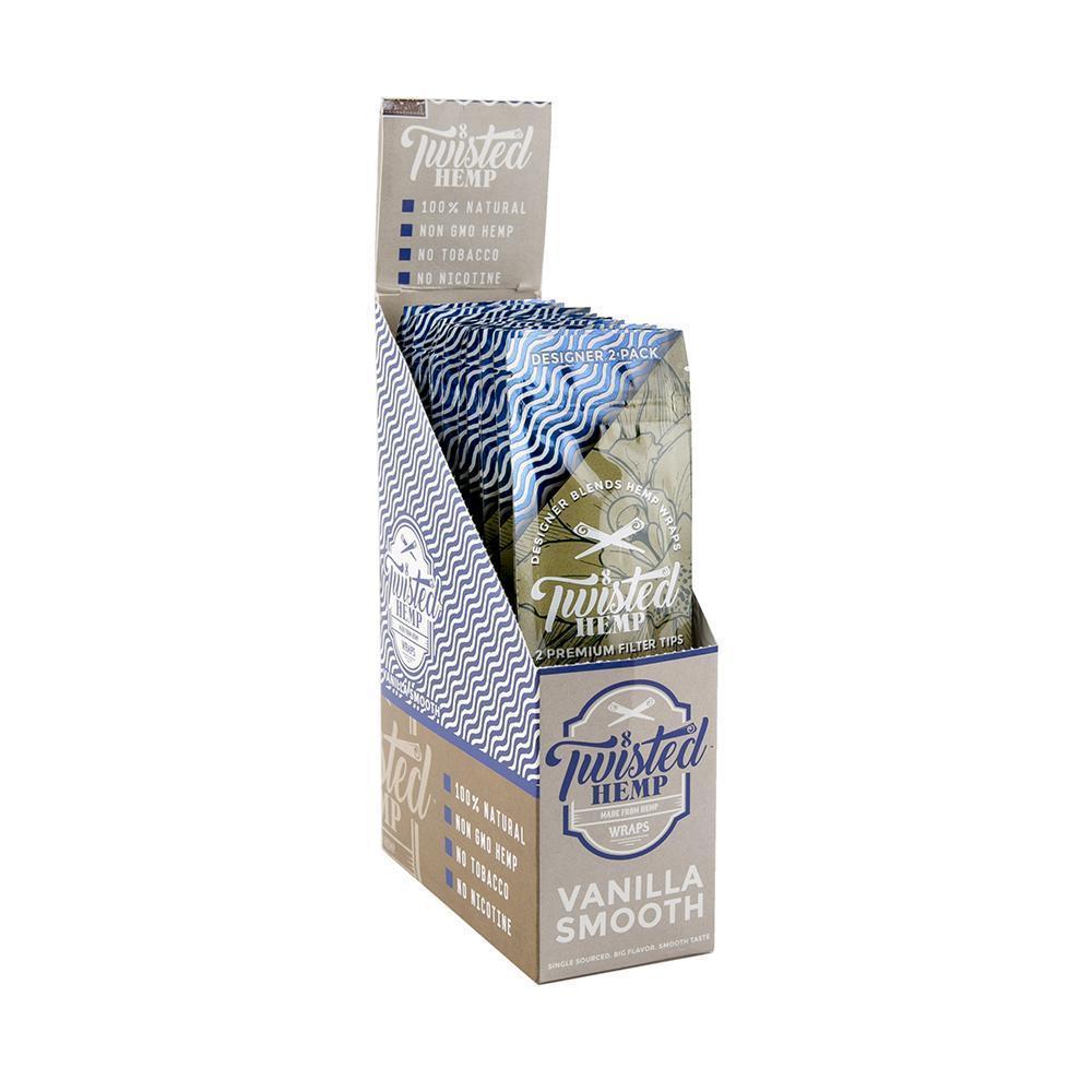 Twisted Premium Hemp Wrap Vanilla Smooth