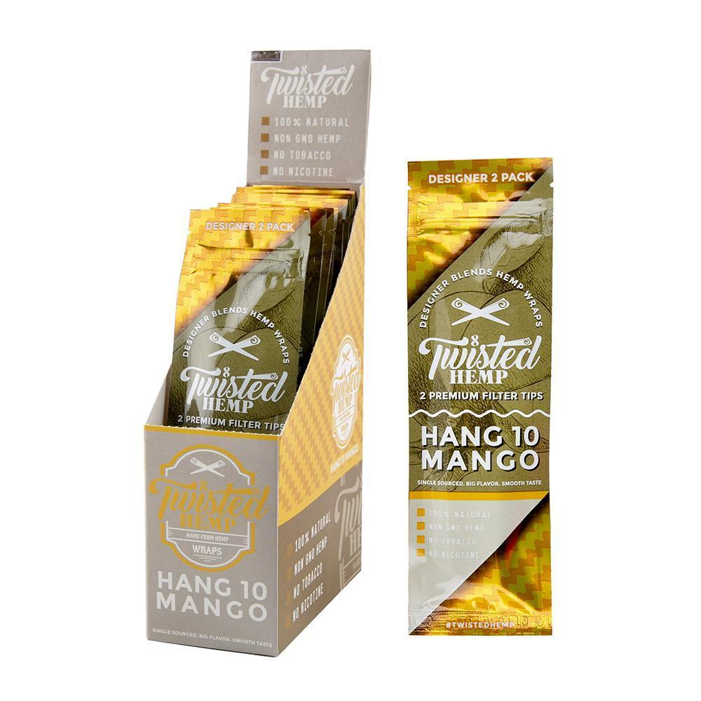 Twisted Premium Hemp Wrap Hang 10 Mango