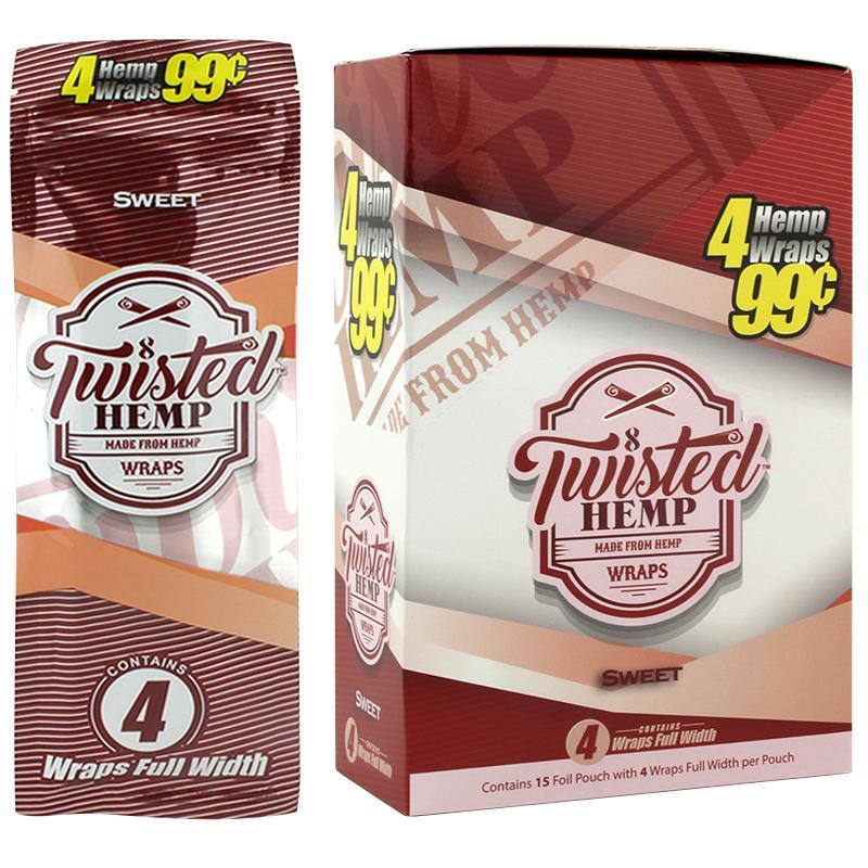 Twisted Hemp Wrap Sweet Flavor