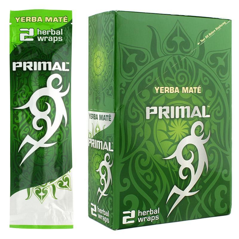 Primal Herbal Wraps Yerba Mate Flavor