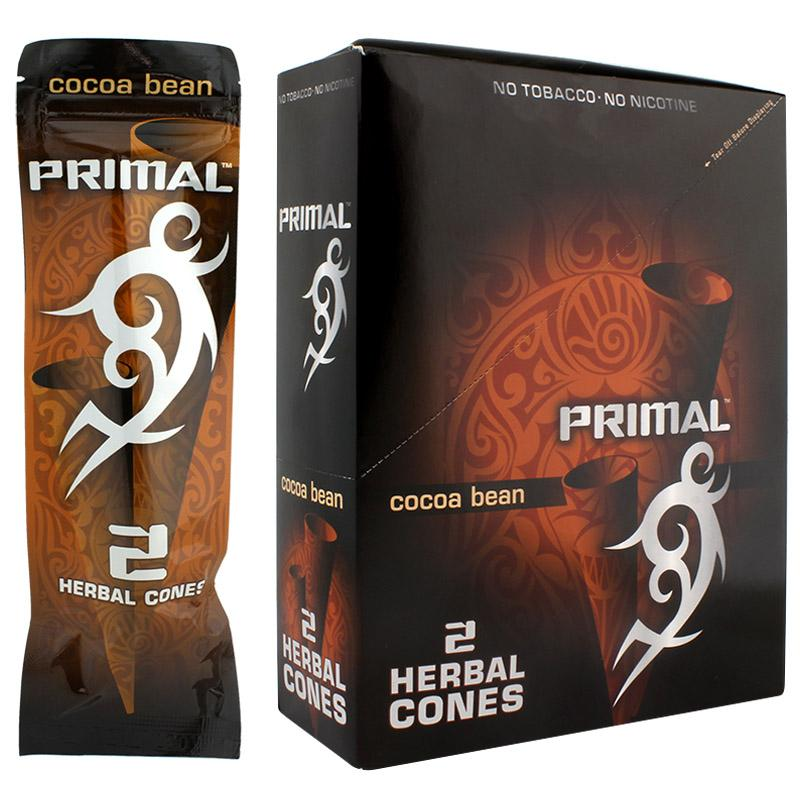 Primal Herbal Cones Cocoa Beans Flavor