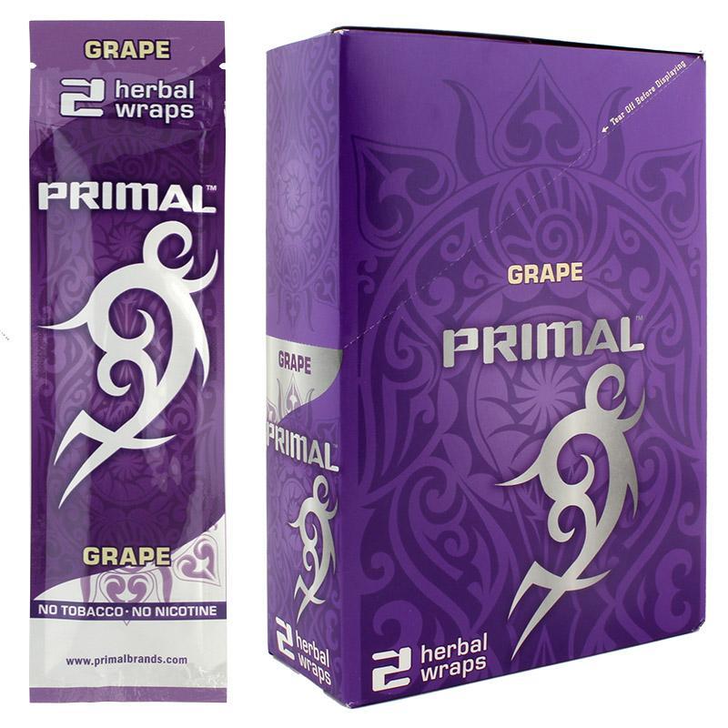 Primal Herbal Wraps Grape Flavor