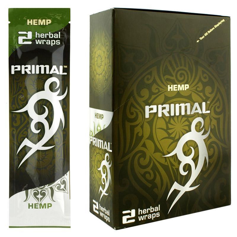 Primal Herbal Wraps Hemp Flavor