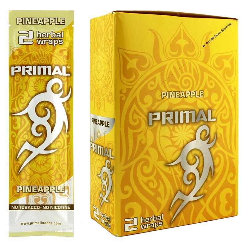 Primal Herbal Wraps Pineapple Flavor
