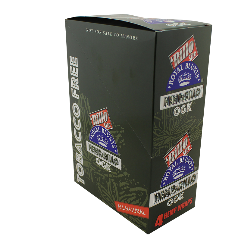 Royal Blunts Rillo Size Hemp Wraps OGK Flavor