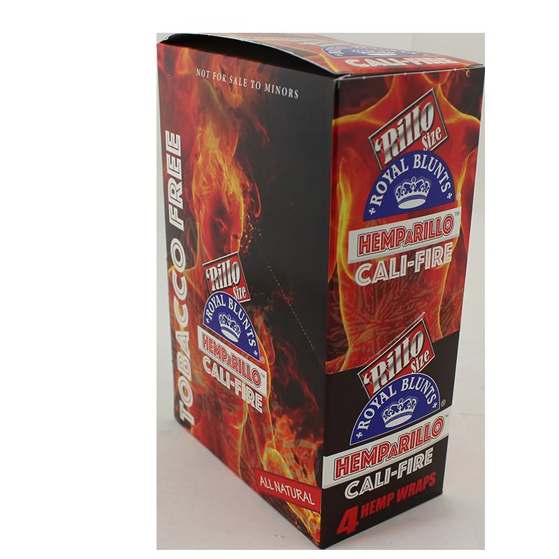 Royal Blunts Rillo Size Hemp Wraps Cali Fire Flavor