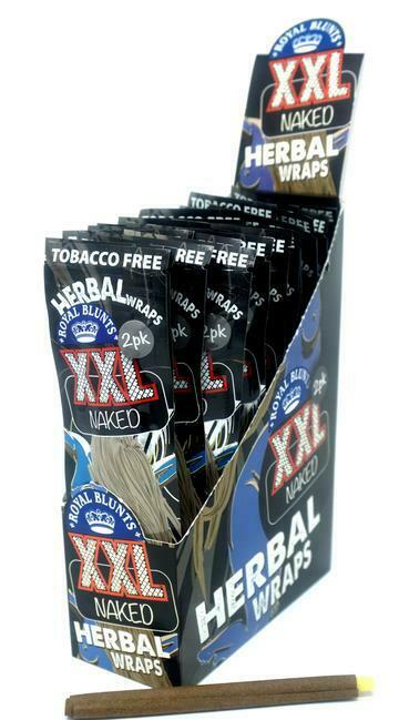 Royal Blunts XXL Herbal Wraps Naked Flavor