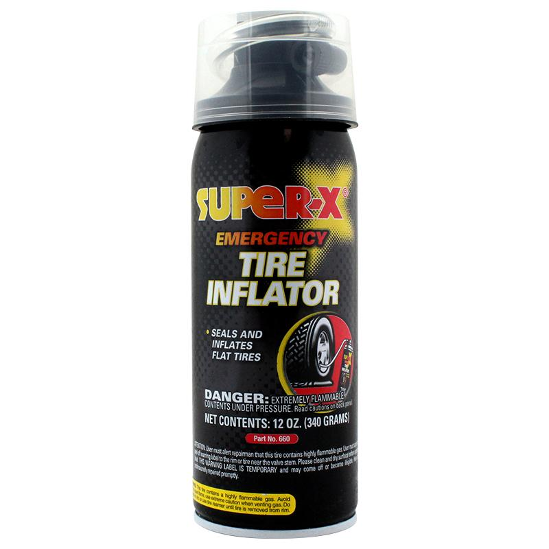 Super-X Tire Inflator Safe Can