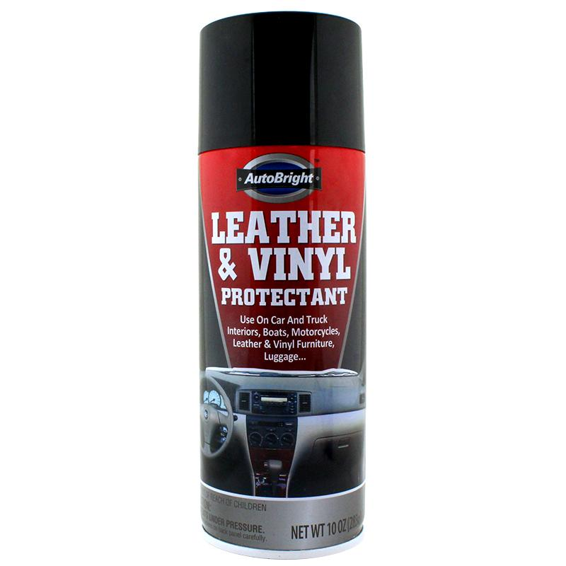 AutoBright Leather & Vinyl Protectant Safe Can