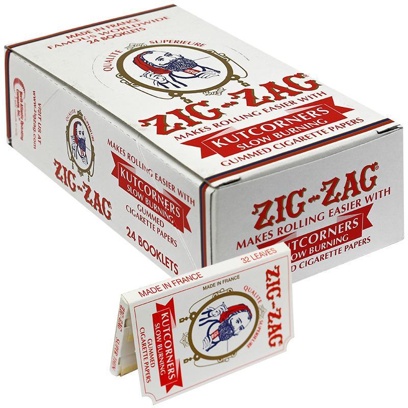 Zig-Zag Kutcorners Slow Burning Rolling Paper