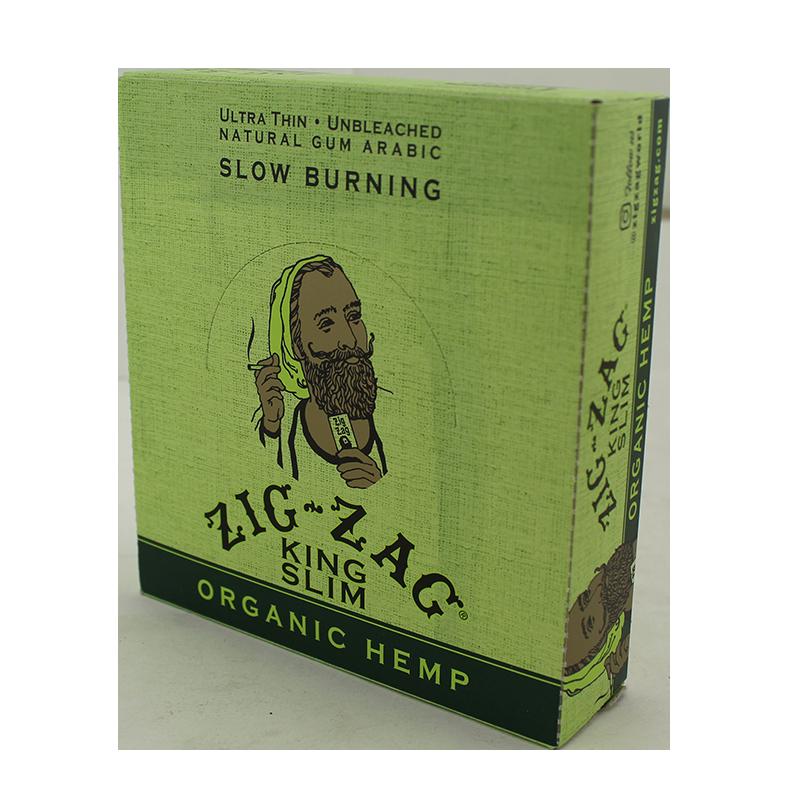 Zig-Zag Organic King Slim Size Paper