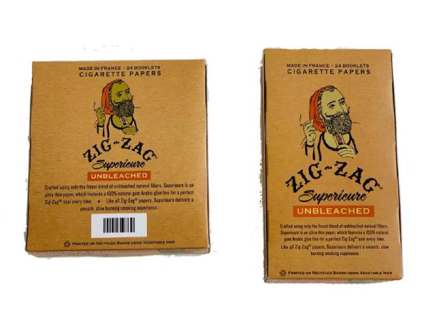 Zig-Zag Unbleached Rolling Paper