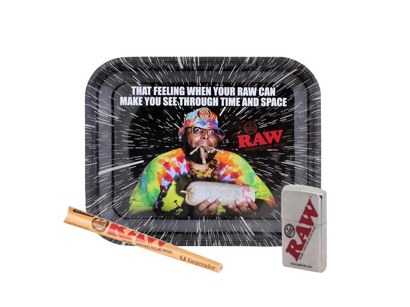 Raw Zippo Cone Tray Bundle