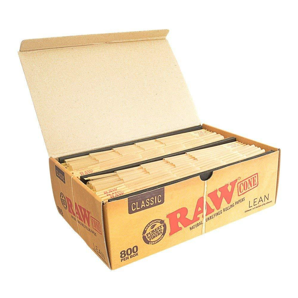 Raw Classic Lean Pre-Rolled Cone - 800ct./Box