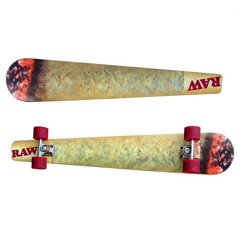 Raw Cone Skateboard Long Board